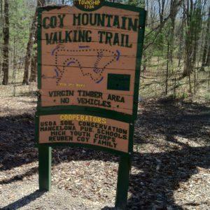 Coy Mountain Walking Trail